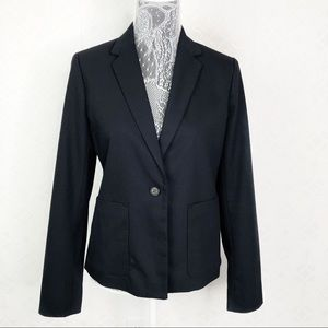 Gap Navy Blue One Button Blazer